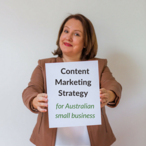 content marketing strategy for australian small businesses